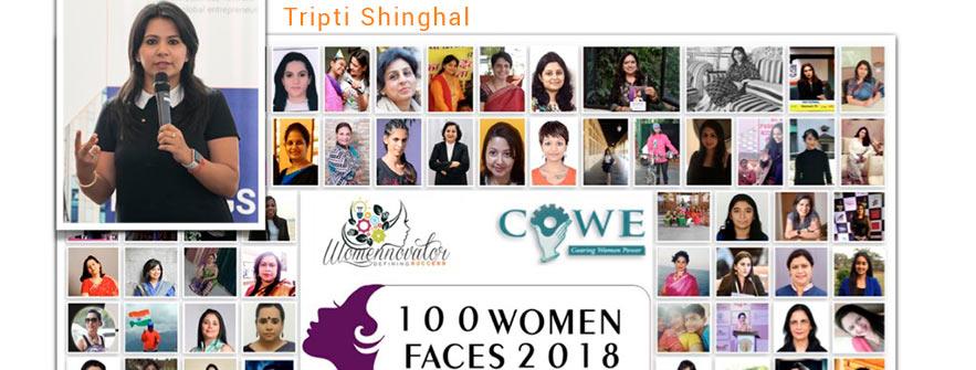 100 women faces 2018