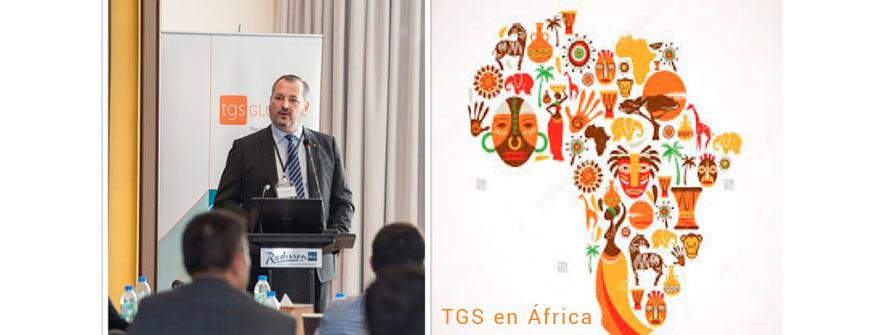 Fabrizio Aldrighetti , Director Ejecutivo de TGS Sudáfrica