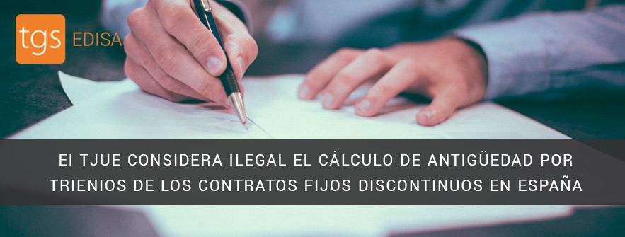 Ilegalidad de contratos fijos discontinuos en España