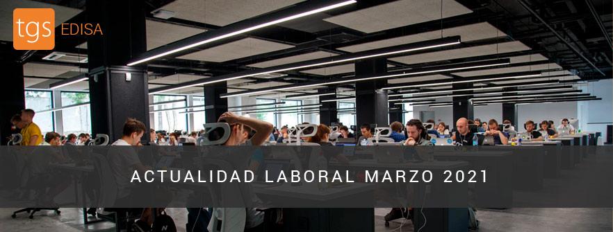 Actualidad Laboral Marzo 2021